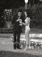 Frankie Avalon and Miss Los Angeles